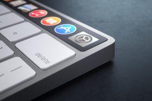 Magic Keyboard OLED Touch Bar