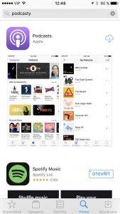 aplikace v iOS