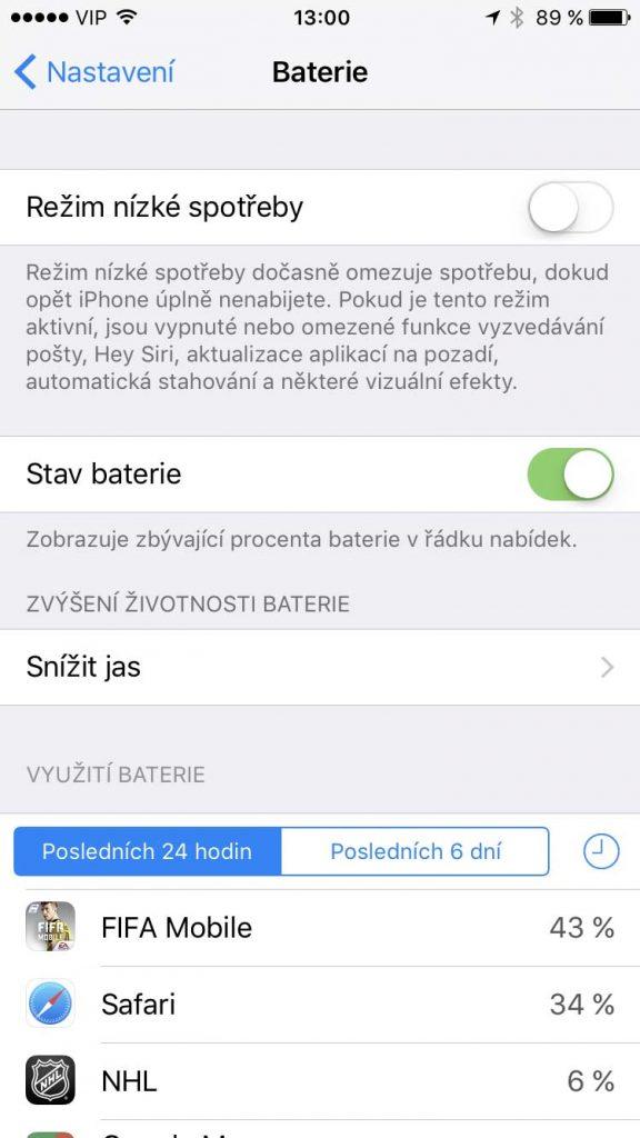 Jak ušetřit baterku