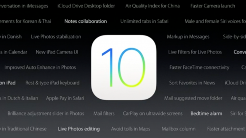 aktualizace, iOS 10.3, iOS 10