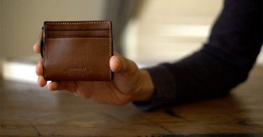 Nomad kožená peněženka