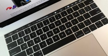 Google Chrome Canary Touch Bar