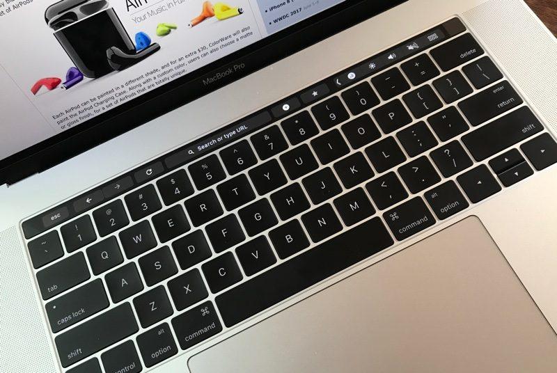 Google Chrome Canary Touch Bar