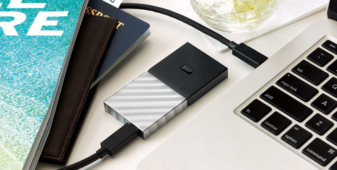 Western Digital SSD USB-C
