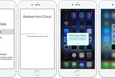 Jak obnovit iPhone iCloud