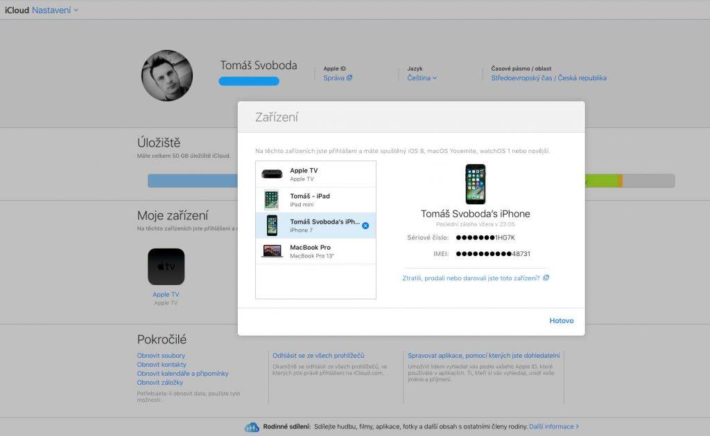 Jak obnovit iPhone
