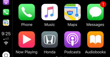 CarPlay iOS 11