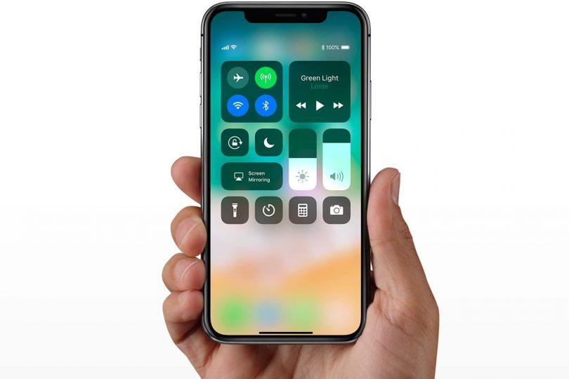 6 užitečných gest pro iPhone X