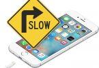 Zpomalování iPhone