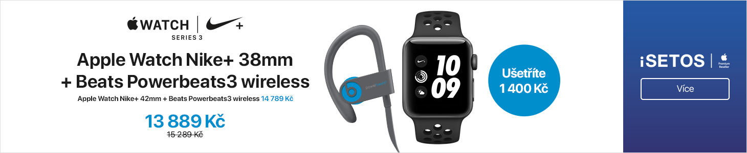 Apple Watch PowerBeats3