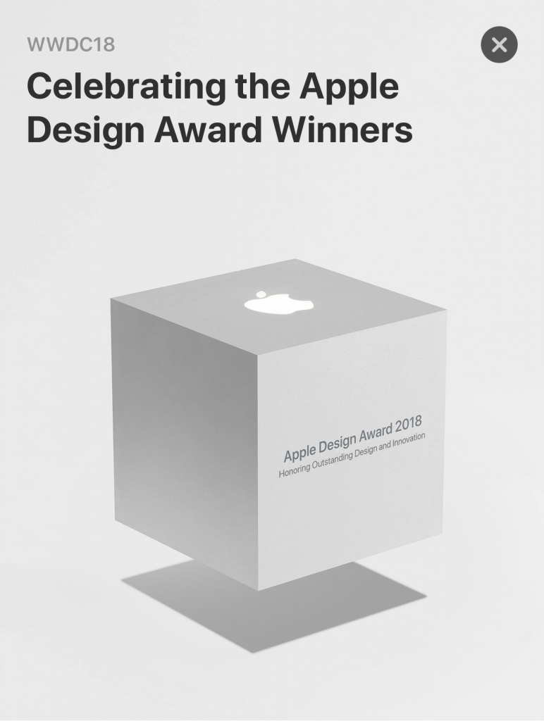 Apple Design Awards 2018