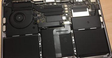 MacBook Pro SSD úložiště
