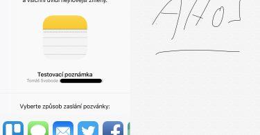 iOS 10 Poznámky
