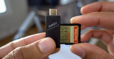 Aukey čtečka SD karet