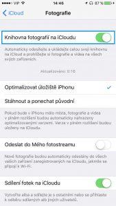 fotky a videa iOS 10