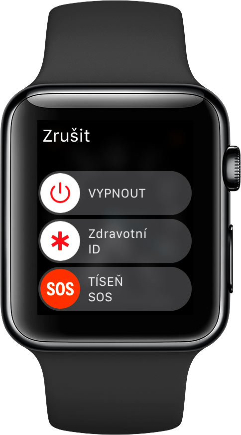 Apple Watch Tíseň SOS