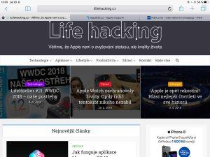 Jak zobrazit ikony webů, favicony