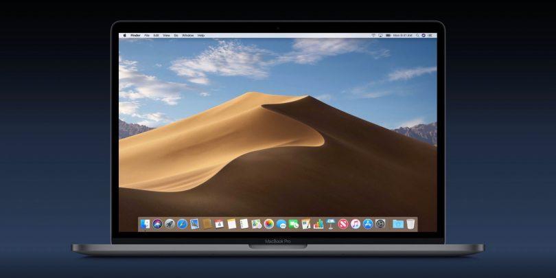 macOS 10.14 Mojave, Dark mode