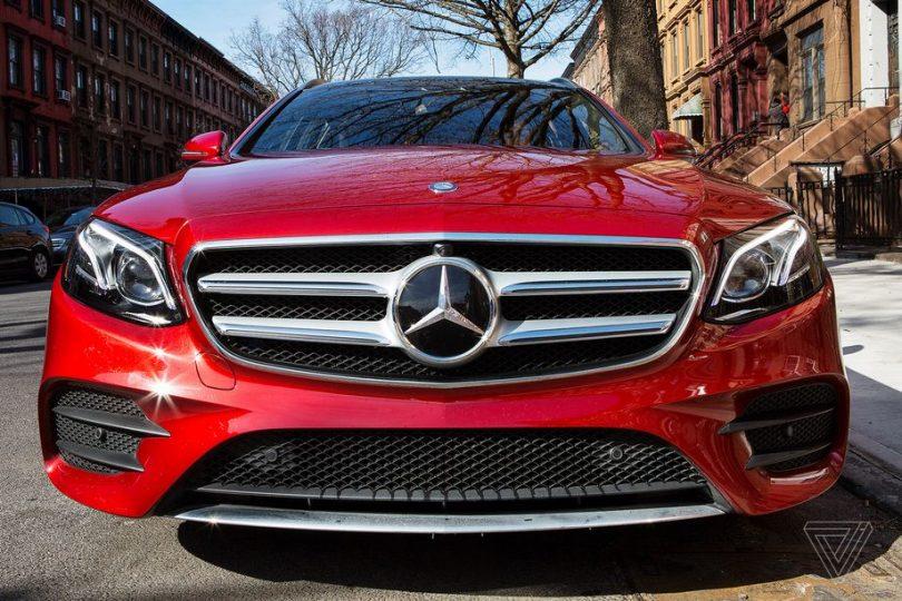Autonomní vozidlo Mercedes