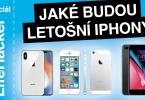letošní iPhony