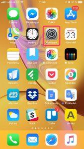 nepodporované aplikace