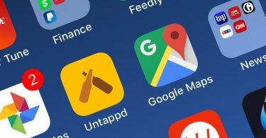 nabíjecí stanice pro elektromobily, Google Maps