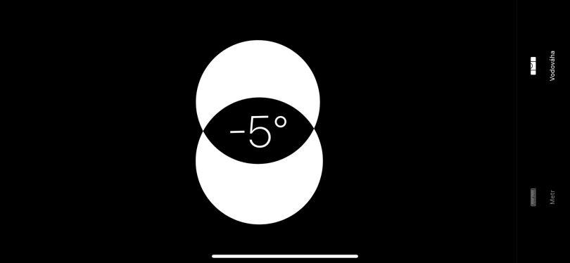 Aplikace Měření vzdálenosti iPhone